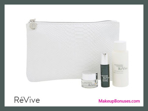 Receive a free 4-pc gift with your $250 RéVive purchase