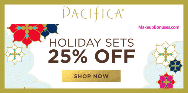 Pacifica Sale - MakeupBonuses.com