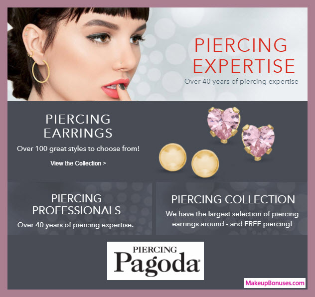 Piercing Pagoda Ear Piercing - MakeupBonuses.com