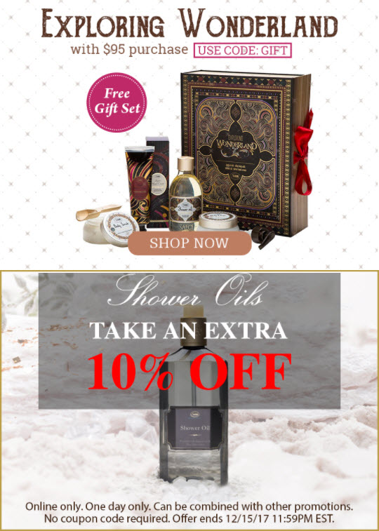 Sabon NYC Sale - MakeupBonuses.com