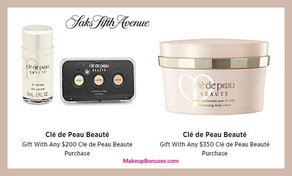 Receive a free 3-pc gift with your $350 Clé de Peau Beauté purchase