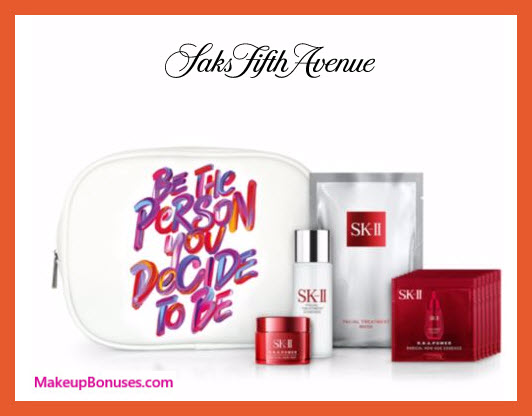 Receive a free 11-pc gift with your $1000 SK-II purchase