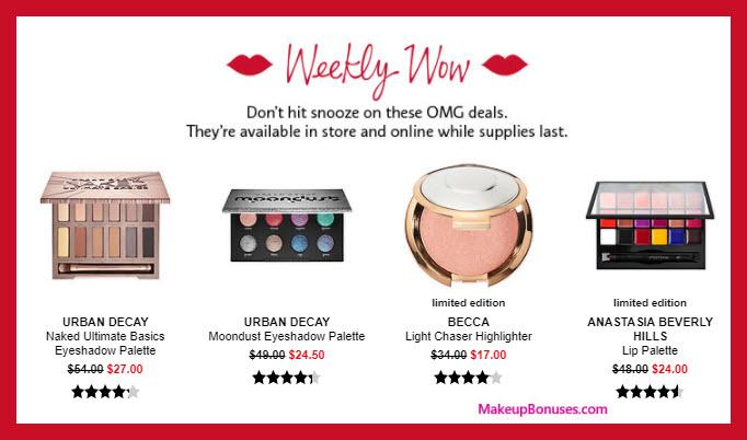 Sephora Sale - MakeupBonuses.com