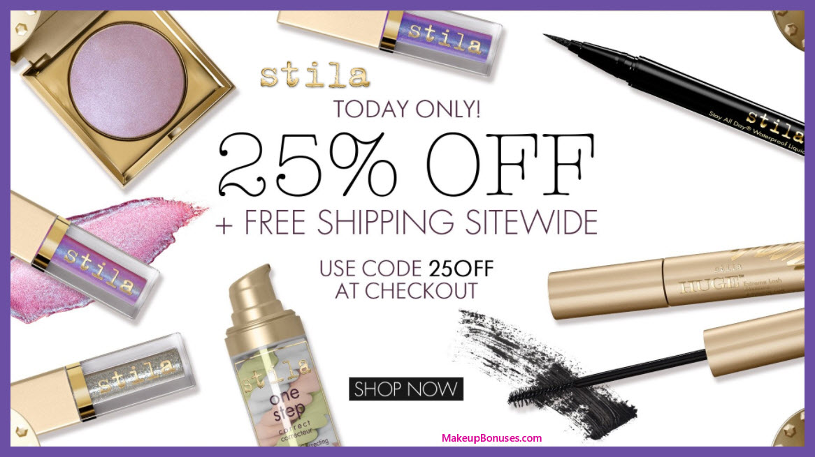 Stila Sale - MakeupBonuses.com