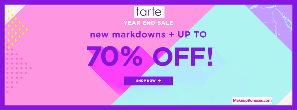 Tarte Sale - MakeupBonuses.com