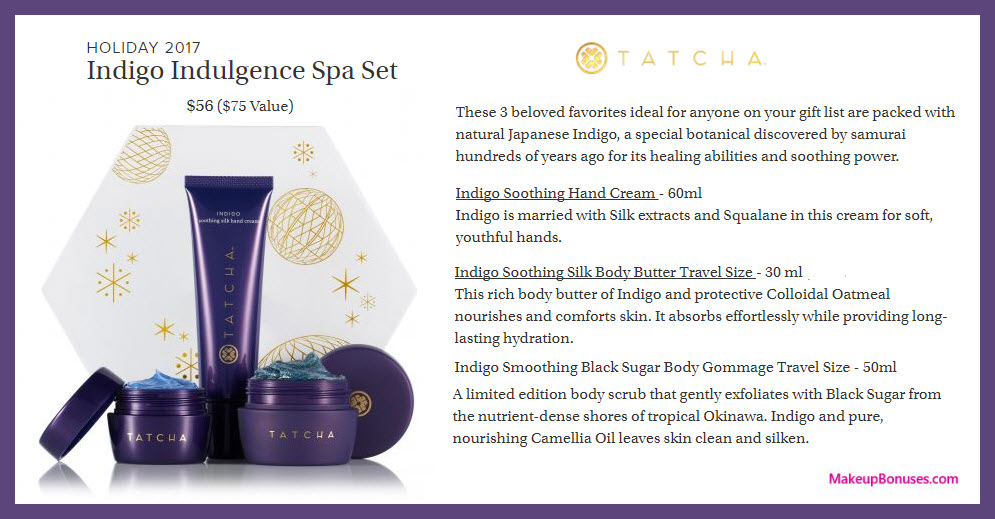 Indigo Indulgence Spa Set - MakeupBonuses.com