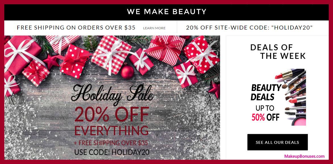 We Make Beauty Sale - MakeupBonuses.com