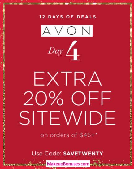 Avon Sale - MakeupBonuses.com