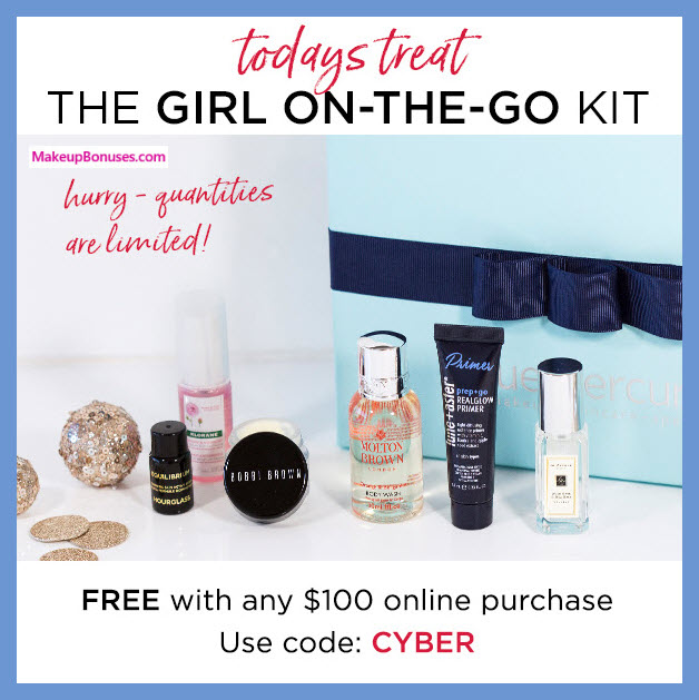 Receive a free 6-pc gift with your $100 Multi-Brand purchase