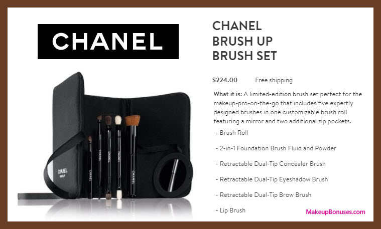 Chanel Brush Up Brush Set - MakeupBonuses.com