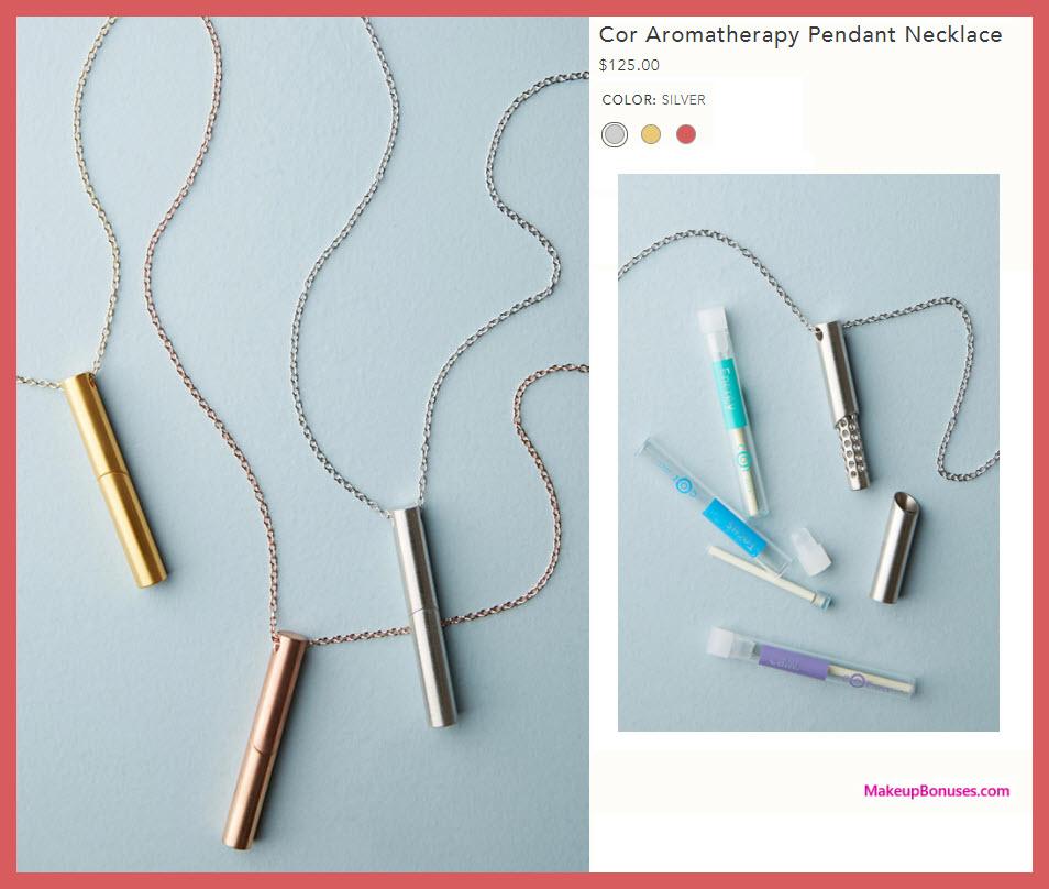 Cor Aromatherapy Pendant Necklace - MakeupBonuses.com