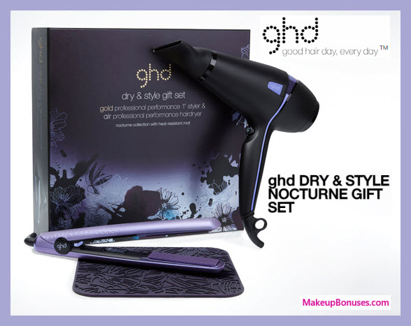 ghd hairdryer & flat iron gift set - MakeupBonuses.com