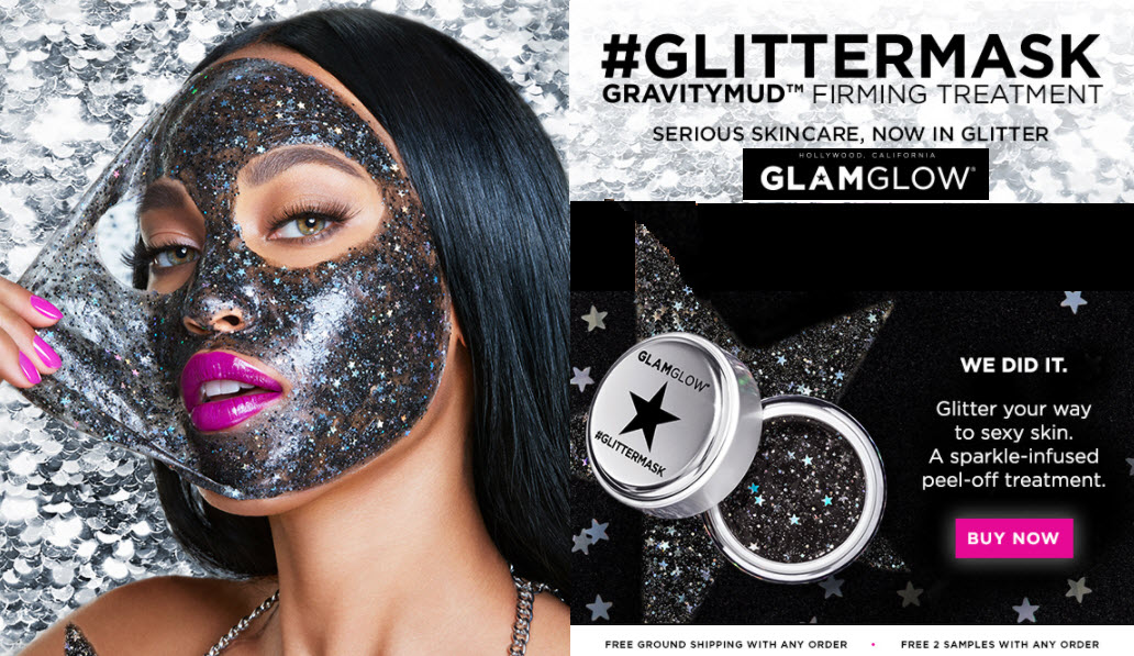 #GLITTERMASK GRAVITYMUD™ FIRMING TREATMENT #GLITTERMASK GRAVITYMUD™ FIRMING TREATMENT - MakeupBonuses.com