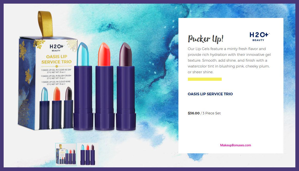 OASIS LIP SERVICE TRIO - MakeupBonuses.com