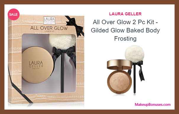All Over Glow 2 Pc Kit - Gilded Glow Baked Body Frosting - MakeupBonuses.com