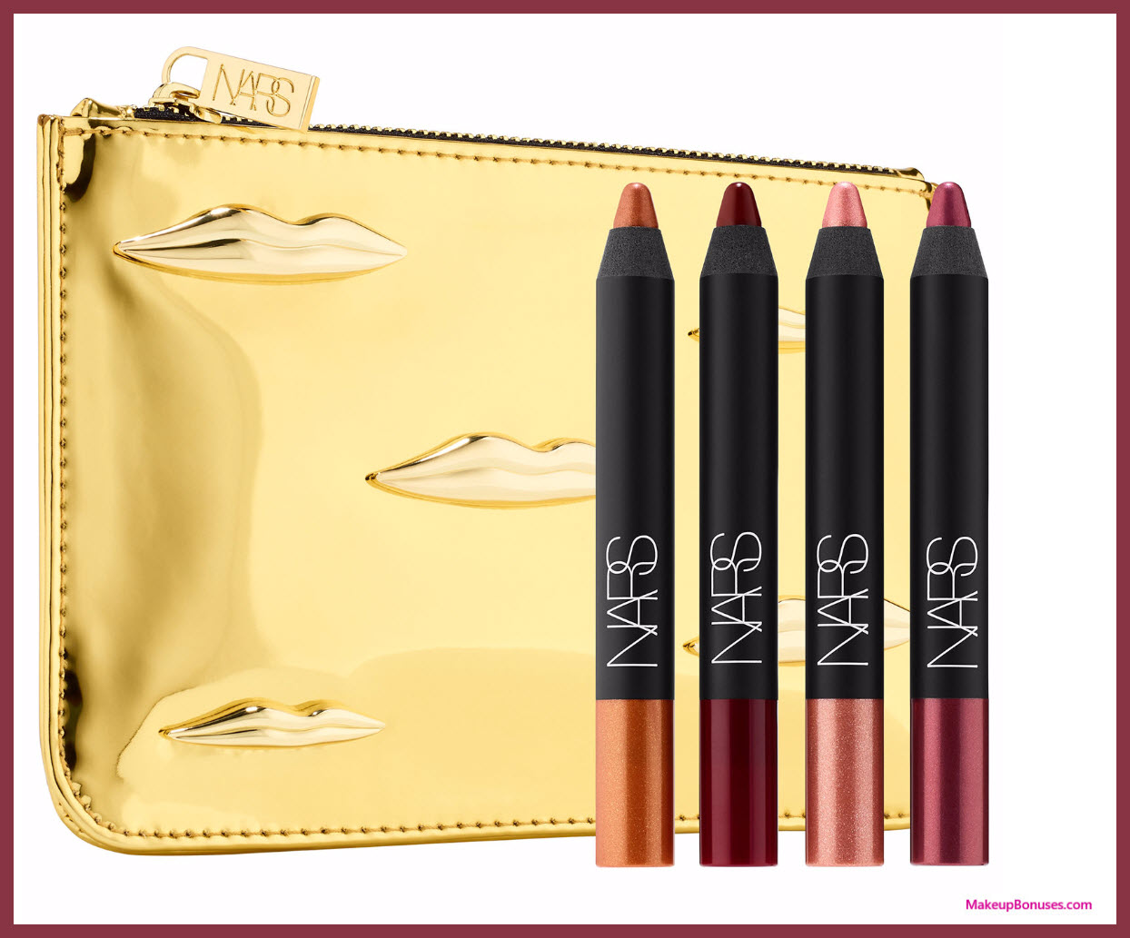 NARS x Man Ray: The Kiss Velvet Matte Lip Pencil Set - MakeupBonuses.com