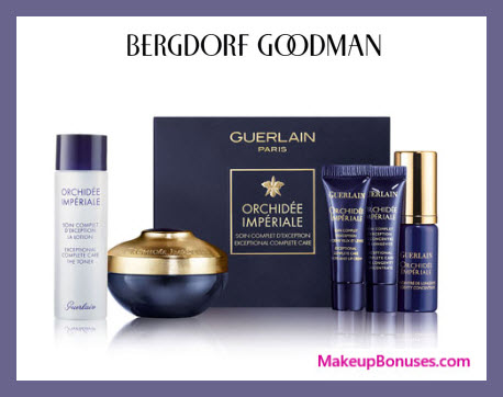 Receive a free 5-pc gift with $400 Guerlain purchase