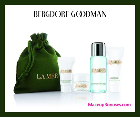 Receive a free 5-pc gift with $350 La Mer purchase