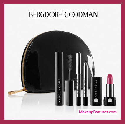 Receive a free 4-pc gift with $125 Marc Jacobs Beauty purchase
