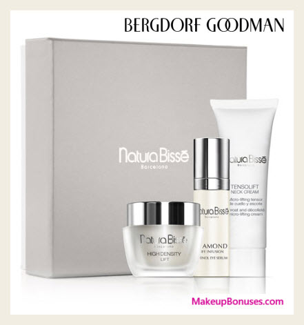 Receive a free 3-pc gift with $350 Natura Bissé purchase