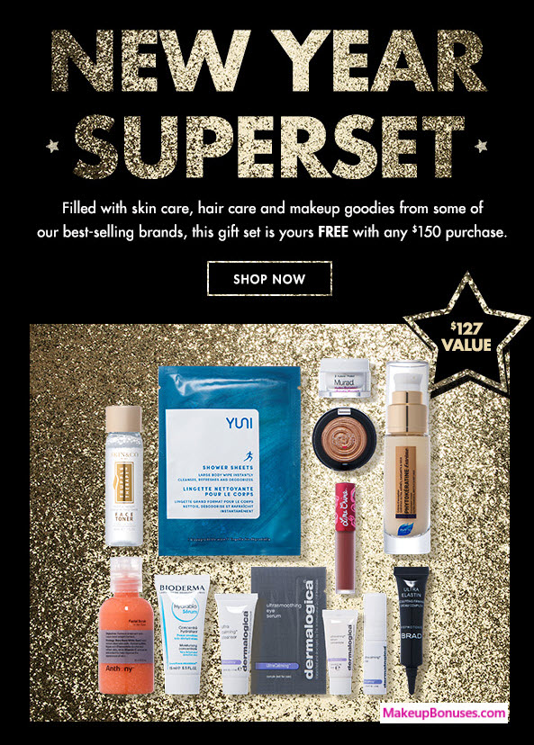 Receive a free 13-pc gift with $150 Multi-Brand purchase