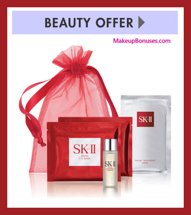 Receive a free 4-pc gift with SK-II Limited Edition Lunar New Year Facial Treatment Essence purchase
