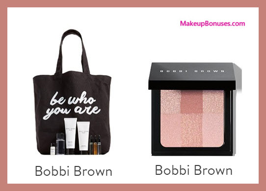 Receive a free 8-pc gift with $100 Bobbi Brown purchase