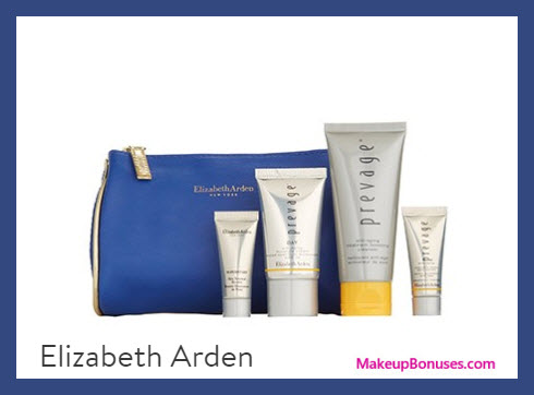 Receive a free 5-pc gift with $50 Elizabeth Arden purchase