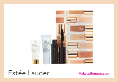 Receive a free 4-pc gift with $45 Estée Lauder purchase