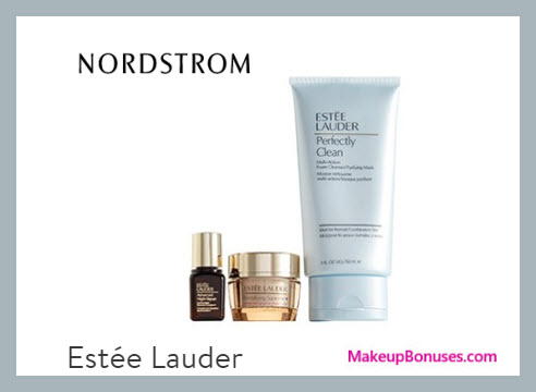 Receive a free 3-pc gift with $35 Estée Lauder purchase