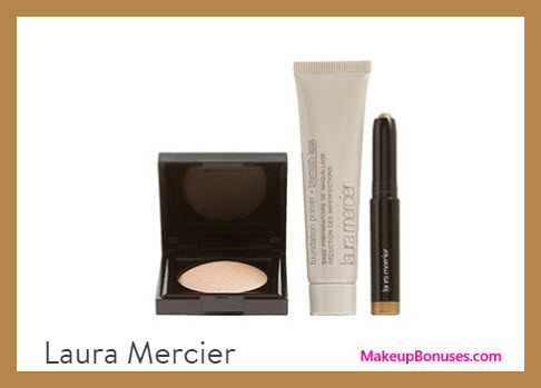 Receive a free 3-pc gift with $95 Laura Mercier purchase