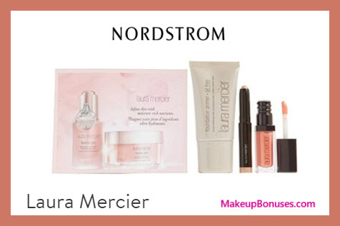 Receive a free 4-pc gift with $125 Laura Mercier purchase