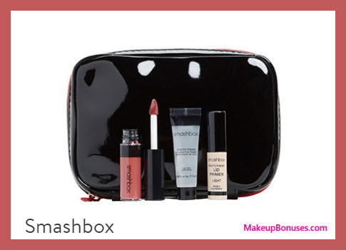 Receive a free 4-pc gift with $35 Smashbox purchase