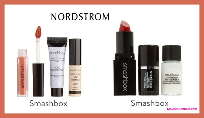 Receive a free 3-pc gift with $30 Smashbox purchase