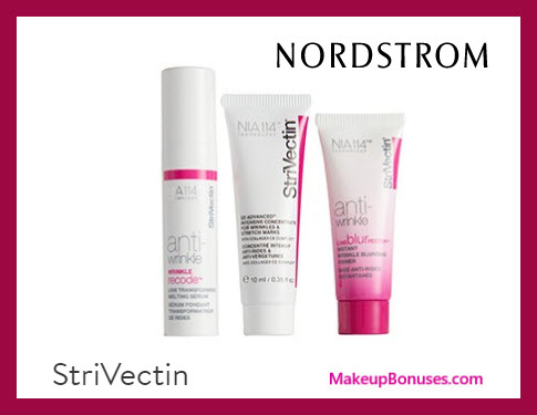 Receive a free 3-pc gift with $89 StriVectin purchase