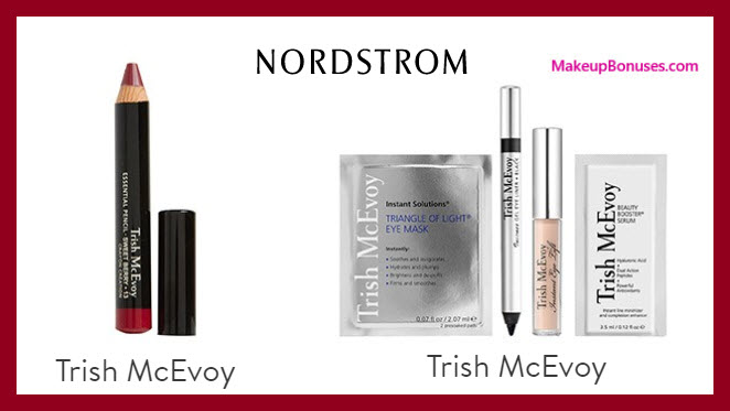 Receive a free 5-pc gift with $100 Trish McEvoy purchase