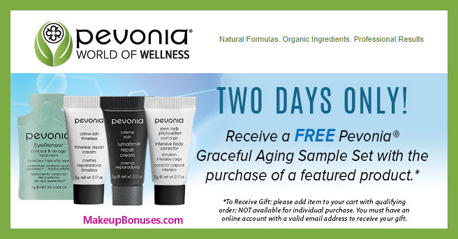 Receive a free 4-pc gift with featured product purchase