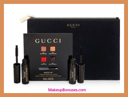 Receive a free 4-pc gift with $75 Gucci purchase