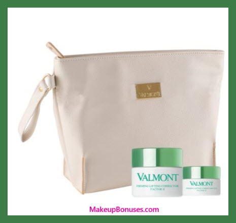 Receive a free 3-pc gift with $800 Valmont purchase