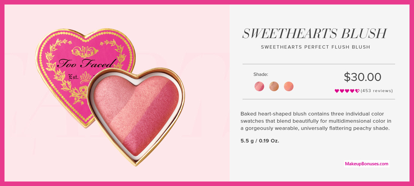 Sweethearts Perfect Flush Blush - MakeupBonuses.com