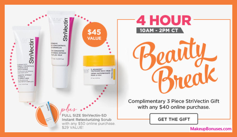 Receive a free 3-pc gift with $40 Multi-Brand purchase