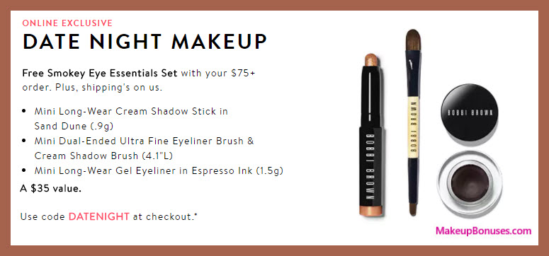 Bobbi brown coupon code