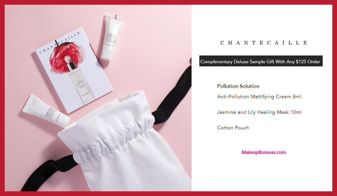 Receive a free 3-pc gift with $125 Chantecaille purchase