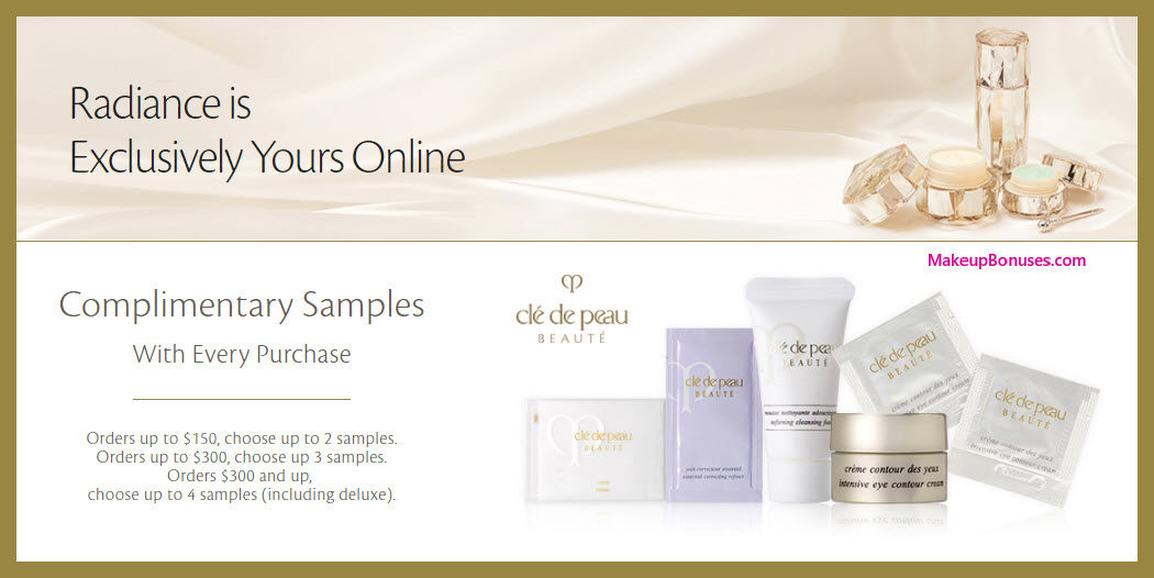 Receive your choice of 3-pc gift with $150 Clé de Peau Beauté purchase