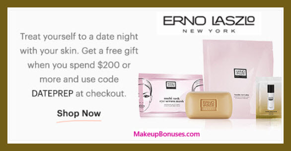 Receive a free 4-pc gift with $200 Erno Laszlo purchase