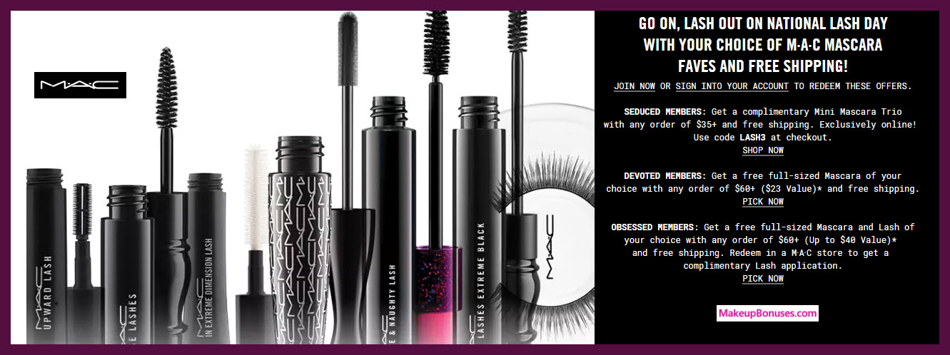 Mac cosmetics coupon code
