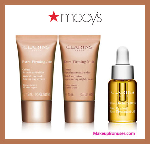 a0f8bfc29c0 Receive a free 3-pc gift with $85 Clarins purchase