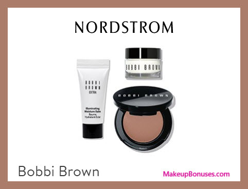 Receive a free 3-pc gift with $90 Bobbi Brown purchase
