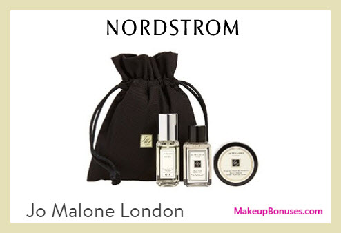 Receive a free 4-pc gift with $130 Jo Malone purchase