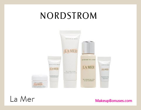 Receive a free 5-pc gift with $250 La Mer purchase